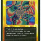 Doctor Who CCG Time Barrier Black Border Game Card