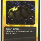 Doctor Who CCG Star Base Black Border Game Trading Card