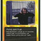 Doctor Who CCG Mind Battle Black Border Game Trading Card