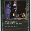 Doctor Who CCG Trionic Lock Black Border Game Card