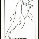 Free Willy Coloring Card #CC3 Einstein