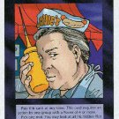 Illuminati Agent In Place New World Order Game Trading Card