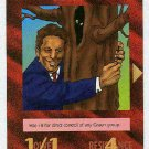 Illuminati Al Gore New World Order Game Trading Card