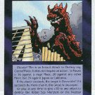 Illuminati Atomic Monster New World Order Trading Game Card