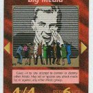 Illuminati Big Media New World Order Game Trading Card