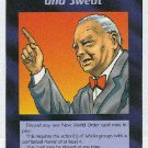 Illuminati Blood, Toil, Tears And Sweat NWO Game Card