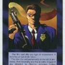 Illuminati Bodyguard New World Order Game Trading Card