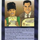 Illuminati Citizenship Award New World Order Game Card