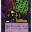Illuminati Clipper Chip New World Order Game Trading Card