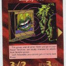Illuminati Empty Vee New World Order Game Trading Card