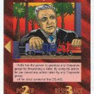Illuminati Jimmy Hoffa New World Order Game Trading Card