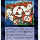 Illuminati Media Blitz New World Order Game Trading Card