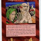 Illuminati Nephews Of God New World Order Game Card