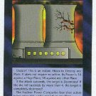 Illuminati Nuclear Accident New World Order Game Card