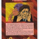 Illuminati Paranoids New World Order Game Trading Card