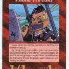 Illuminati Phone Phreaks New World Order Game Trading Card