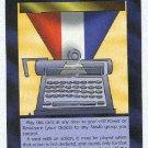 Illuminati Pulitzer Prize New World Order Game Trading Card