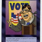 Illuminati Read My Lips New World Order Game Trading Card