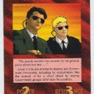 Illuminati Secret Service New World Order Game Trading Card