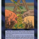 Illuminati Slush Fund New World Order Game Trading Card