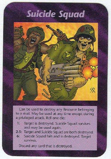 Illuminati Suicide Squad New World Order Game Trading Card