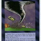 Illuminati Tornado New World Order Game Trading Card
