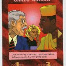Illuminati United Nations New World Order Game Trading Card