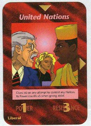Illuminati Game Cards in Order