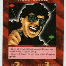 Illuminati Video Games New World Order Game Trading Card