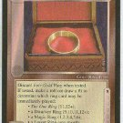 Middle Earth Fair Gold Ring Wizards Limited Game Card