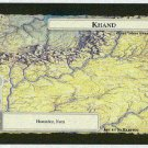 Middle Earth Khand Wizards Limited Black Border Game Card