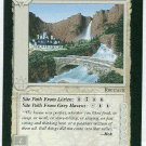 Middle Earth Rivendell Wizards Limited Game Card