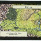 Middle Earth Rohan Wizards Limited Black Border Game Card