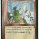 Middle Earth Tempering Friendship Wizards Game Card