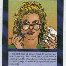 Illuminati Bimbo At Eleven New World Order Game Card