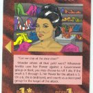 Illuminati Imelda Marcos New World Order Game Trading Card