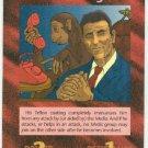 Illuminati Ronald Reagan New World Order Game Card