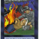 Illuminati Volunteer Aid New World Order Game Trading Card