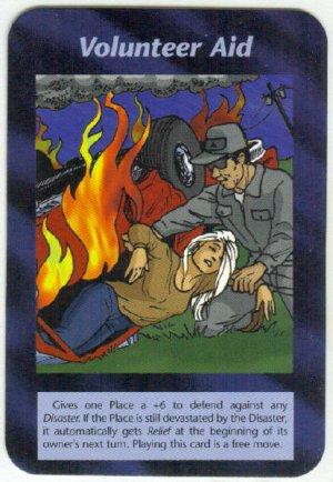 Illuminati Volunteer Aid New World Order Game Trading Card
