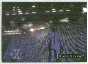 X-Files Season 3 #62 Parallel Card Silver Bar Xfiles