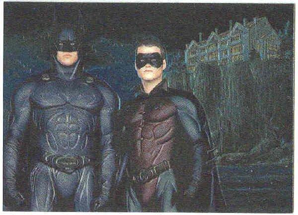 Batman Forever #6 Chromium Chase Card Kilmer O'Donnell