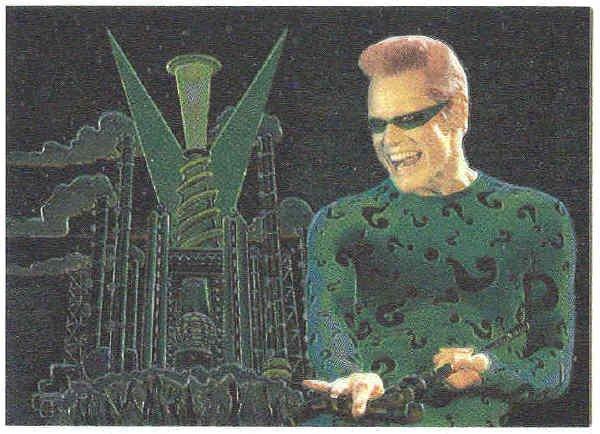 Batman Forever #8 Chromium Anime Chase Card Jim Carrey