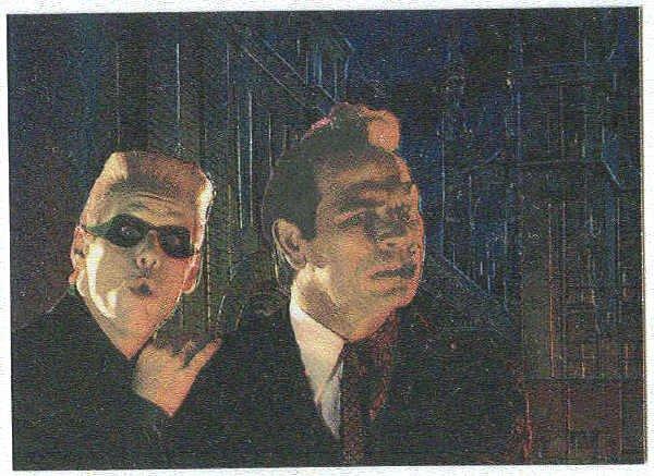 Batman Forever #10 Chromium Anime Card Tommy Lee Jones