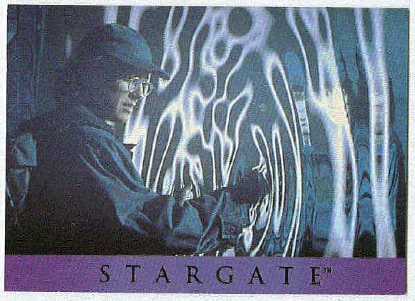 Stargate 1994 Adventure #AS-3 Card Daniel Enters Stargate