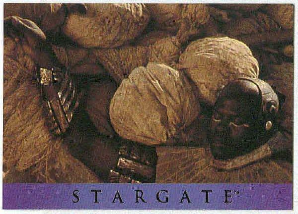 Stargate 1994 Adventure #AS-7 Chase Card Horus Morphs