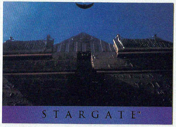 Stargate 1994 Adventure #AS-9 Chase Card Glider Launch