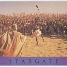 Stargate 1994 Adventure #AS-11 Chase Card Rebellion