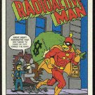 Simpsons 1993 Radioactive Man #R9 Public Enemy Card