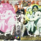 1996 Pacific Bobby Hebert #7 Gold Foil Cel and Litho Cards