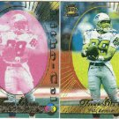 1996 Pacific Terry Glenn #62 Gold Foil Cel and Litho Cards